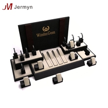 Luxury jewelry display manufacturers China stands set jewellery display