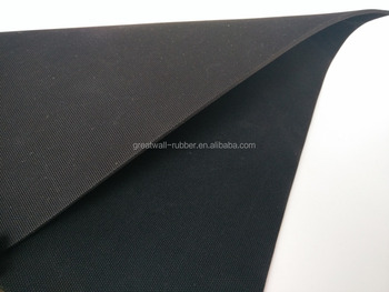 Professional Custome Design Industrial Rubber Fabric Impression Mat
