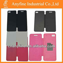 For Blackberry Z10 colorful flip cover leather case,PU flip case for Blackberry Z10