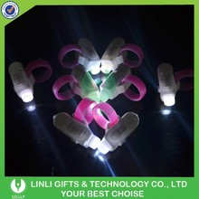 Party/NIght Club Events Silicome Flashing Glow Ring Light,Multocolor LED Party Ring Light,Customized Logo Ring Light