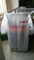 PVC transparent color raincoat with logo