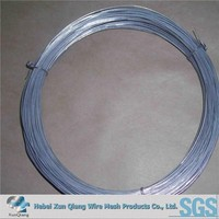 bright galvanized steel wire/flat galvanized steel wire