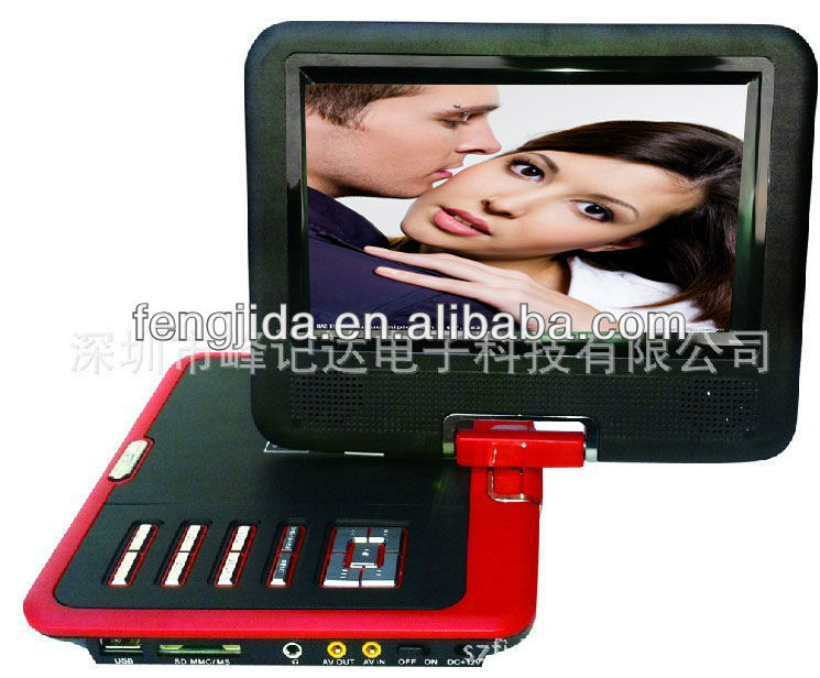 manufacture 7 inch popular car dvd player with card reader