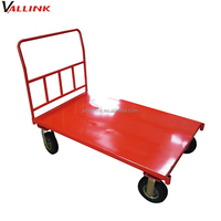 4 wheel steel construction dolly