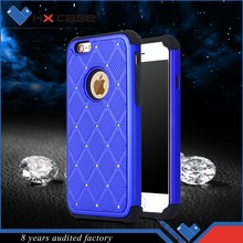 Latest design luxury crystals mobile phone cover