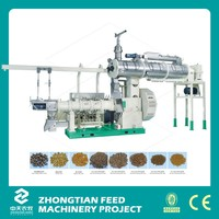 High efficiency pet food pellet machine / Floating Fish Feed Pellet Machine For Fish Farming