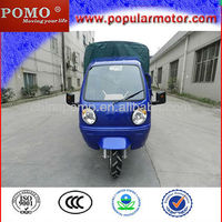2013 Chinese Hot Top Popular Gasoline Cheap 250CC Water Cool Cargo Covered Trike