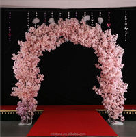 WEFOUND Floral wedding arches decorating ideas Wedding flower arches