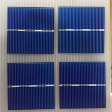customized size cutting solar cell 52*52mm small solar cell pieces