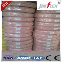 One layer steel wire braided reinforced hydraulic rubber hose pipe