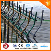 Galvanized welded wire mesh fence for boundary wall