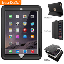 PU Leather Auto Wake Up cover for ipad 2 3 4 case,for ipad 2 3 4 cover