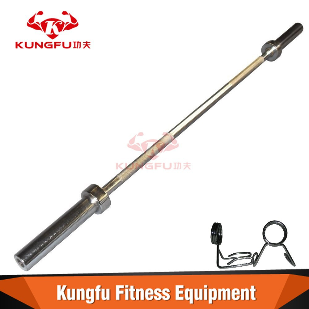 Fixed Straight Rubber Barbell