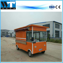Hot sales mobile fast bbq food cart renting