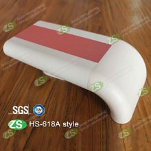wall mounted PVC and aluminum corridor handrail post base plate