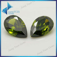Factory direct selling pear diamond stone bijoux companies in Wuzhou