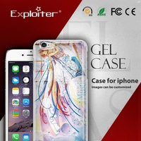 Shenzhen Exploiter customise cellular phone tpu case for iphone5
