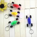 make custom 3D mini keyring/OEM manufacturers custom car shape plastic keyrings