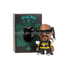 7'' Cool Famous Snoop Dog Rap Singer Vinyl Toys/OEM High Quality Vinyl Toys for kids/Custom Plastic Cartoon Vinyl Toys Factory