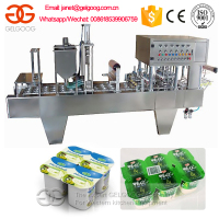 Automatic Yogurt Cup Filling and Sealing Machine GG-60A-4C