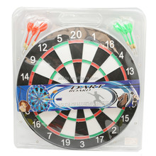 17 Inch Poor imitation linen Wooden Material Outdoor Game Toy Dart Board Made In China