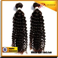 China manufacturer directly factory selling pure human hair curly virgin Malaysia hair extension