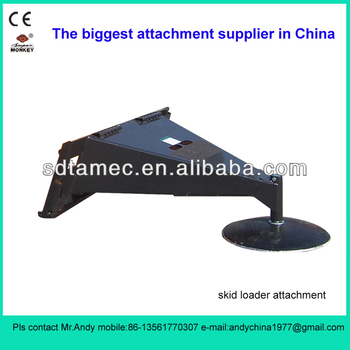 skid steer loader ice scraper,skid loader attachment,bobcat attachment