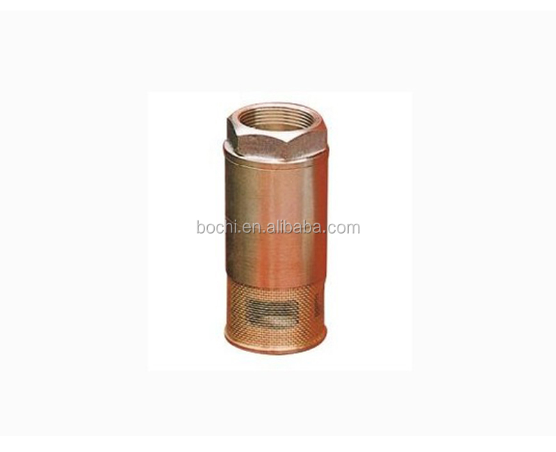 NPT Threaded Brass Double Foot Valve for Fuel Dispenser