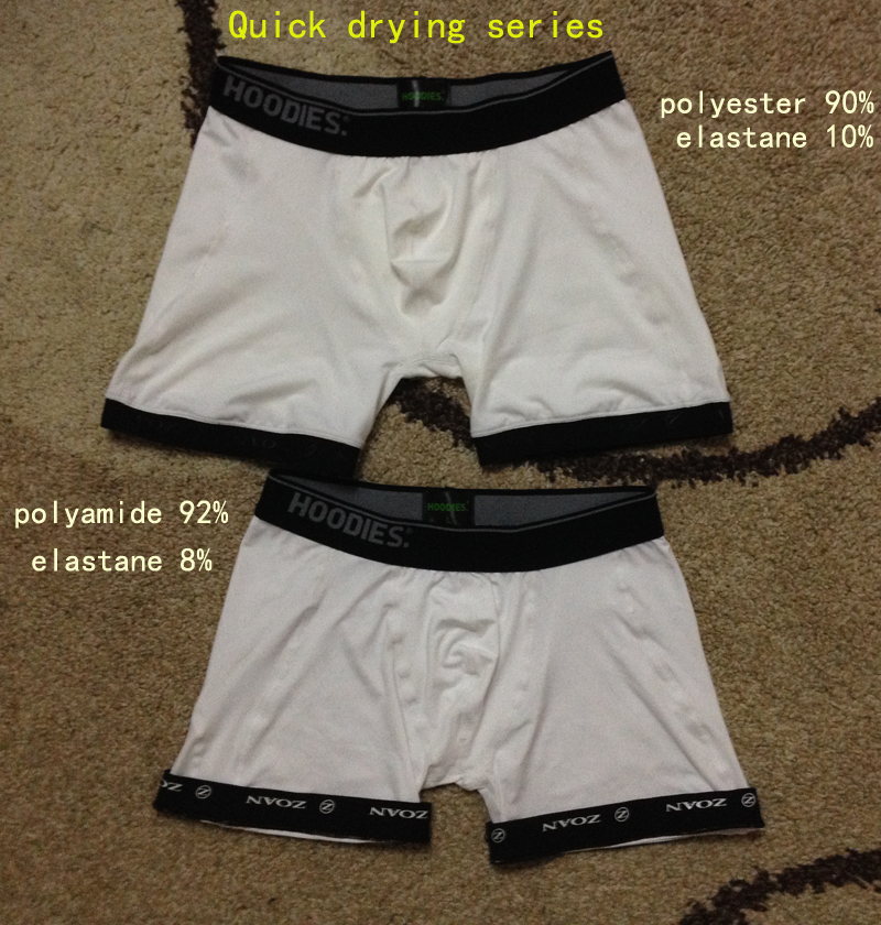 men underwear quick crying polyester underwear polyamide boxer
