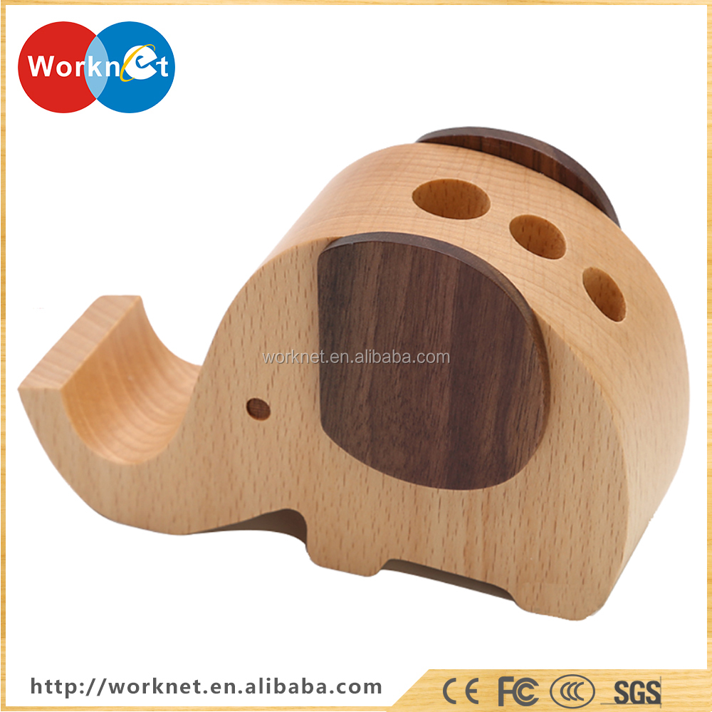 Shenzhen factory wood phone stand for iPhone new hot gift wholesale