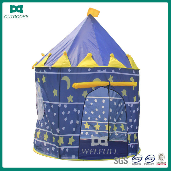 kid play king camp tent