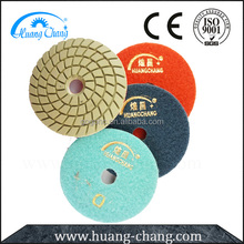 4 Steps Durable Diamond Sanding Pads Granite Polishing Tools for Glass