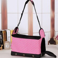 High quality beautiful fashional hot selling pet carrier bag