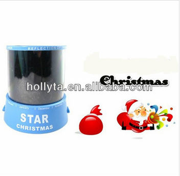 Night Light Projector for Chirstmas ,Santa Claus projection lamp