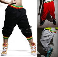 New Casual Men's Womens HIP HOP Dance Casual Harem Baggy Sport Sweat Loose 2015 Fashion Pants 19777
