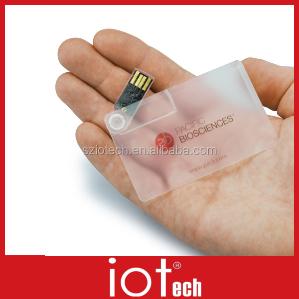 New Style 1GB Promotional Credit Card USB Flash Drive