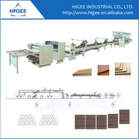 Corrugated single facer paperboard carton making machine