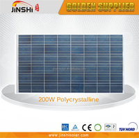 Lower price high efficiency 6*9pcs solar cells 200w solar panels price