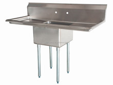 stainless steel four tubs handmade kitchen sink overflow