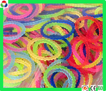 2014 Highly Welcomed Crazy Loom Rubber Bands, Glow In The Dark Ball Ball Loom Rubber Bands