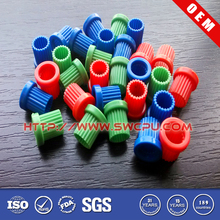 Custom colored injection molded small plastic gears