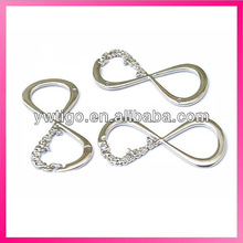 Wholesale zinc alloy one direction silver infinity pendant