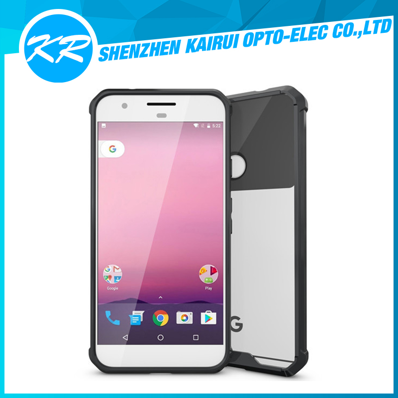 2016 new!!!cell phone TPU+PC Transparent case for Google Pixel,For Google Pixel Tpu Case