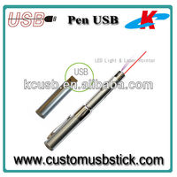 Cheap price metal usb stick with laser point