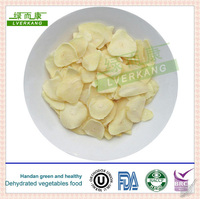 Nice Natural white chinese dried garlic flake spice, good dehydrated garlic spice from Yongnian, Hebei,China