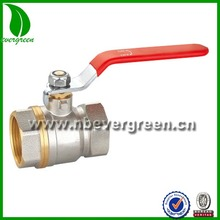 China Supplier Supply Oil And Gas Female water Brass Ball ball Valve