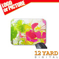 Smooth Fabric Surface Rubber printed Flowers and plants razer MousePad