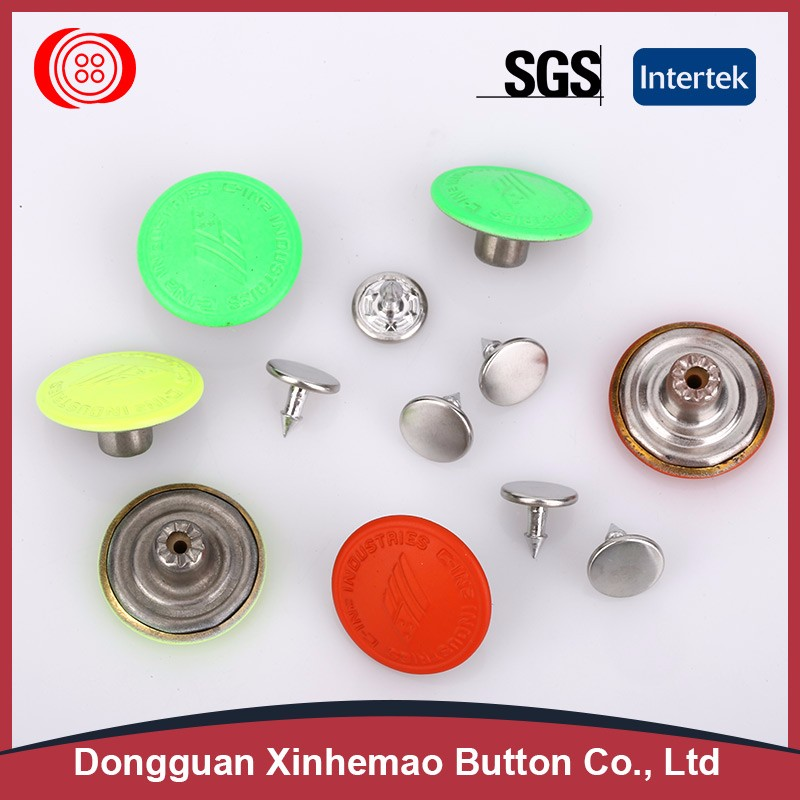 Professional decorative metal buttons for clothing