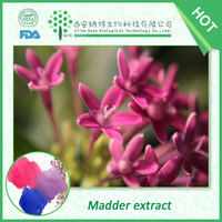 Free of sample natural pigment Madder root extract alizarin red to dyeing