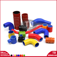 colored silicone tubing/flexible heat resistant straight/coupler silicone rubber hose/tube